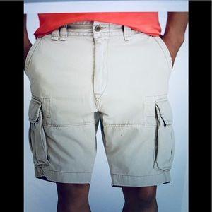 Ralph Lauren Polo cotton cargo shorts.  Size 36.